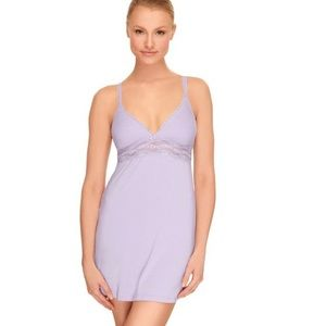 NWT | B'tempted by Wacoal lilac chemise